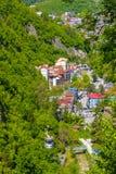 Montanha funicular imagem de stock royalty free