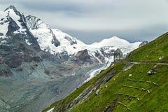 Montanha Geleira Grossglockner A montanha a mais alta de Austria's Foto de Stock