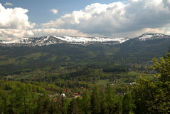 Montanha gigante Fotos de Stock