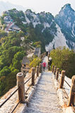 Montanha Hua (Huashan), China Foto de Stock