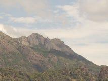 Montanha idêntica de Jusus Foto de Stock Royalty Free