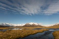 Montanha Islândia foto de stock