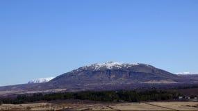 Montanha Islândia da tabela imagens de stock royalty free