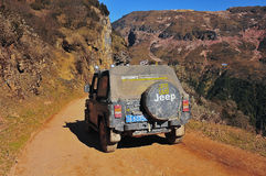 Montanha Jeep Journey Imagens de Stock