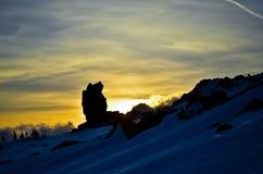 Montanha konjac Imagens de Stock Royalty Free