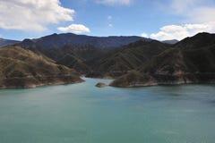 Montanha & lago Imagem de Stock