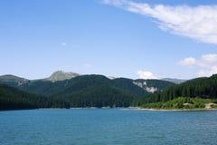 Montanha Lake foto de stock royalty free