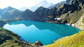 Montanha Lake Imagem de Stock