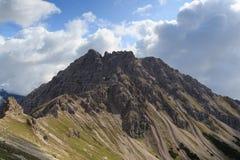Montanha Leilachspitze fotografia de stock