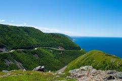 Montanha litoral Imagem de Stock