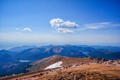 Montanha máxima dos piques, Colorado, EUA Fotografia de Stock