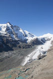 A montanha a mais alta de Grossglockner em Áustria 3 798m Fotografia de Stock Royalty Free