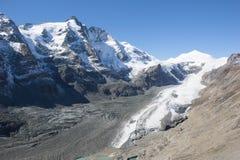 A montanha a mais alta de Grossglockner em Áustria 3 798m Imagem de Stock