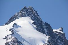 A montanha a mais alta de Grossglockner em Áustria 3 798m Fotografia de Stock
