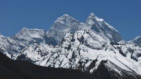 Montanha majestosa Kangtega imagens de stock royalty free