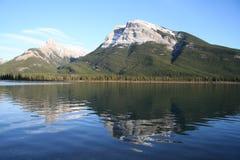 Montanha majestosa perto de Banff Foto de Stock