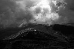 A montanha maravilhosa do ka do ¾ do› Å de SnÄ, República Checa fotos de stock