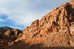 Montanha na área vermelha da conservação da garganta da rocha Imagem de Stock Royalty Free