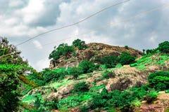 Montanha na demora Ekiti, estado Nigéria de Ekiti, África Fotografia de Stock