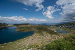 Montanha natural bonita de Bulgária foto de stock