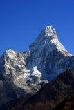 Montanha Nepal de Ama Dablam fotos de stock