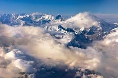 Montanha nepal de Himalaya foto de stock
