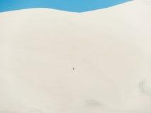 Montanha Nevada da areia Imagem de Stock