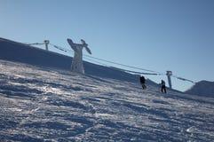 Montanha nevado Fotos de Stock Royalty Free