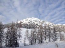 Montanha nevado imagens de stock royalty free
