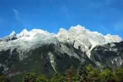 Montanha nevado Imagens de Stock
