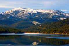 Montanha nevado Foto de Stock Royalty Free