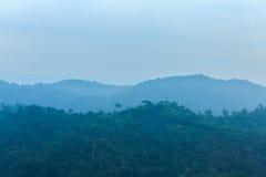 Montanha no amanhecer Imagem de Stock Royalty Free