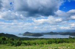 Montanha no céu azul Imagem de Stock