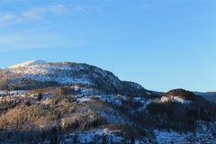 Montanha norueguesa 006 Fotografia de Stock Royalty Free