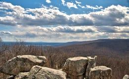 A montanha ocidental de Maryland negligencia imagens de stock royalty free