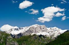 Montanha (Onno, Itália) Imagem de Stock