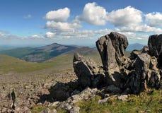 Montanha a pedra de Konzhakovsky Fotos de Stock