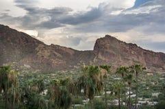 Montanha Phoenix do Camelback, AZ fotografia de stock royalty free