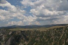 Montanha Piva Fotografia de Stock Royalty Free