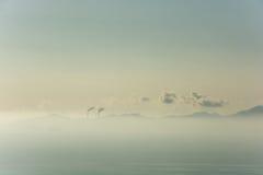 Montanha, poluição Imagem de Stock Royalty Free