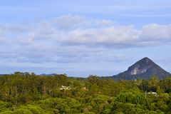 Montanha preta 2 Fotos de Stock Royalty Free