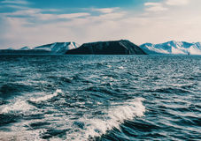 Montanha preta Imagem de Stock