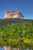 Montanha principal fotografia de stock