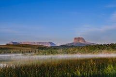 Montanha principal velha Imagens de Stock
