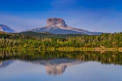 Montanha principal velha Foto de Stock