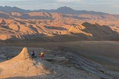 Montanha que biking em Afeganistão Imagem de Stock