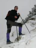 Montanha que trekking Imagem de Stock Royalty Free