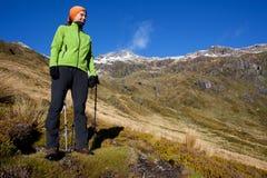Montanha que trekking Foto de Stock Royalty Free