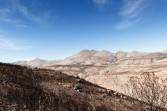 Montanha - reserva natural de Swartberg fotos de stock