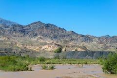 Montanha River Valley Imagem de Stock